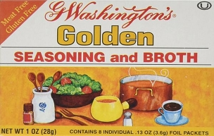 G Washington's Golden Broth and Seasoning, 12 Boxes